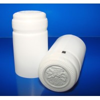 Termokapsle 28,5-30,8x55 mm bílá 1001, bílý top