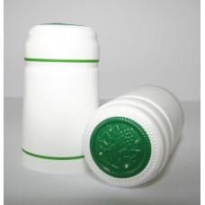 Termokapsle 28,5-30,8x55 mm bílá 1003, zelený top