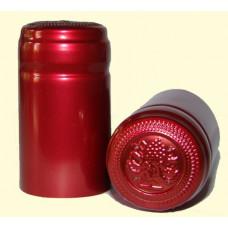 Termokapsle 28,5-30,8x55 mm červená 4004, červený top
