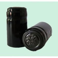 Termokapsle 28,5-30,8x55 mm černá 5009, černý top