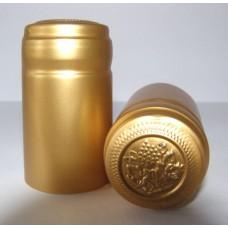 Termokapsle 28,5-30,8x55 mm zlatá 6004, zlatý top