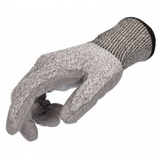 Stocker rukavice pánské šedé, proti říznutí
