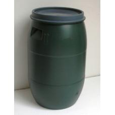 Sud hobok zelený plast 120 l