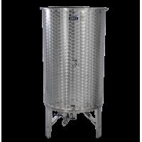 Nerezová nádoba 2600 l/ 4 ventily