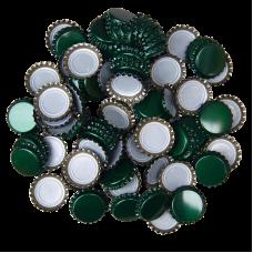 Uzávěr korunkový 26´ zelený (100 ks)